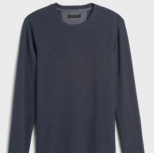Banana Republic Waffle-Knit Thermal T-Shirt
